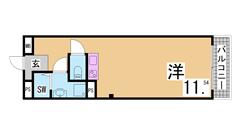 駅が真横の立地です。JR・阪急・阪神・地下鉄・地下鉄海岸線とどの沿線もご利用可 3Fの間取