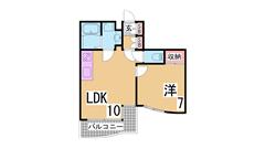 敷金0円^^オール洋室^^大手ハウスメーカー施工^^ 301の間取