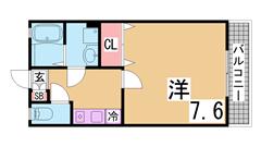 ぺットOK2LDK^^駐車場無料^^追焚き機能・システムキッチン・環境良好^^ 121の間取