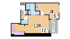 築浅・システムキッチン・ペット相談・床暖房・追い焚き^^ 601の間取