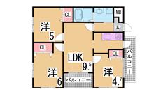 室内大型リフォーム済み 駅目の前 システムキッチン 人気のファミリー物件 403の間取