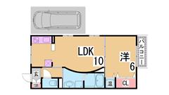 オール電化の谷上駅近人気ハイツ^^駐車場1台込^^システムキッチンIH2口^^ B101の間取