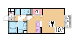 特優賃から一般化されたバリアフリーの駅近マンション^^人気の谷上^^ 106の間取