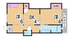 バリアフリー・南向き・オートロック付の駅近マンション^^敷地内駐車場有^^ 1002の間取