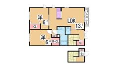 大手ハウスメーカー施工のペットOK物件^^駐車場付 追い焚き システムキッチン A202の間取