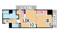 築浅物件・システムキッチン・陽当り良好・EV・AL・追い焚き機能^^ 506の間取