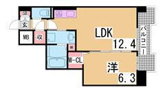 人気のエレベーター付マンション^^室内リフォーム済み^^ 201の間取