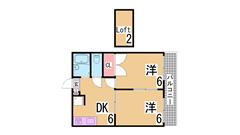 阪急六甲近くのオートロック付きマンション 広々バルコニー エレベーター付き 103の間取
