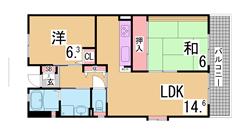 フレール兵庫浜崎通 28-808の間取