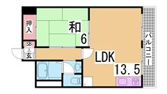 須磨浦ビル 303の間取