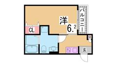 大手ハウスメーカー施工の築浅テラスハウス^^広い追焚付の浴室^^駐車場1台込み 103の間取