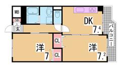 敷礼0^^オートロック付^^広めのスペースでゆったり一人暮らし^^ 305の間取