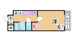 リノベーション物件^^オール電化・セパレート・IH^^インターネット料金無料^^ 304の間取