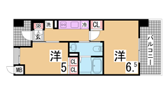 ペットOK^^エレベータ付^^有馬温泉・岡場駅も車ですぐ^^ 303の間取