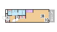 神戸駅1分の人気物件^^ IHキッチン・オートロック・EV・大型収納^^ 604の間取