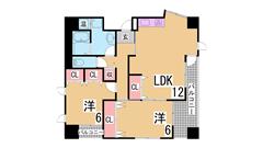 神戸駅・コンビニ・スーパー徒歩圏 システムキッチン オール洋室 601の間取