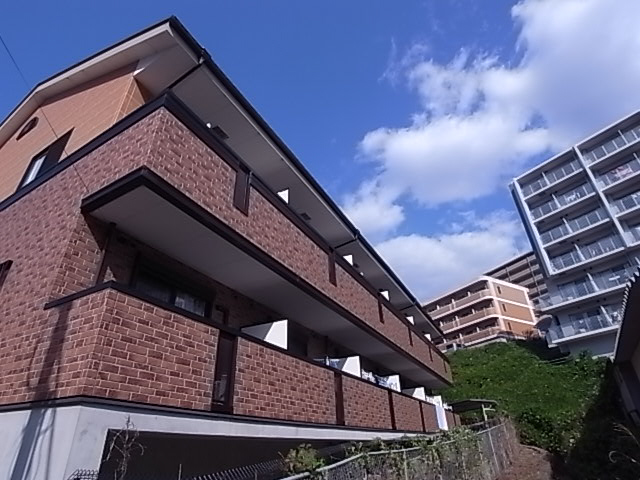 物件番号: 1111267457  神戸市須磨区車字口道谷 1K ハイツ 外観画像