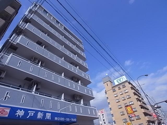 物件番号: 1111275242 ドミール神戸  神戸市兵庫区上沢通7丁目 1K マンション 外観画像