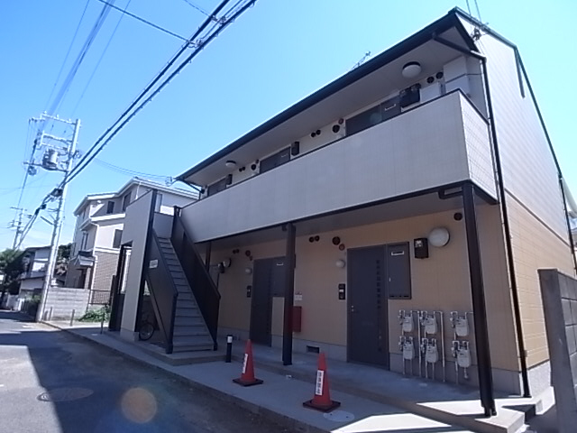 物件番号: 1111284472  神戸市須磨区月見山町2丁目 1DK ハイツ 外観画像