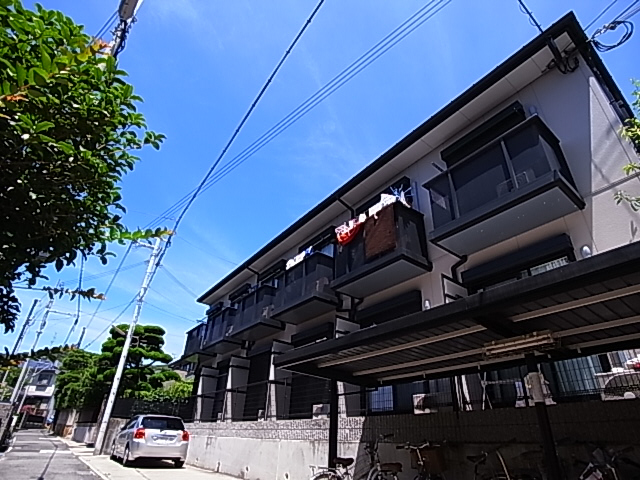 物件番号: 1111291571  神戸市須磨区桜木町2丁目 1K ハイツ 外観画像