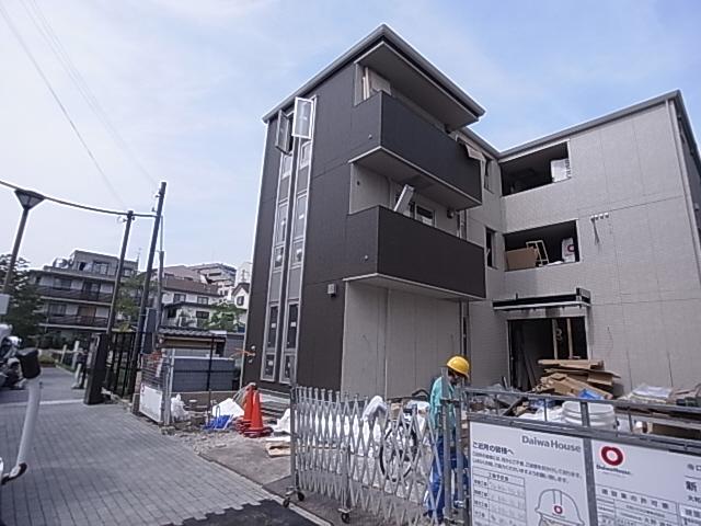 物件番号: 1111223912  神戸市兵庫区松本通6丁目 1K アパート 外観画像