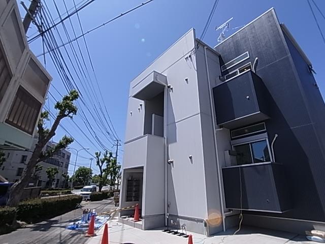 敷金礼金0円^^新築ロフト付デザイナーズ^^インターネット料も無料^^ 101の外観