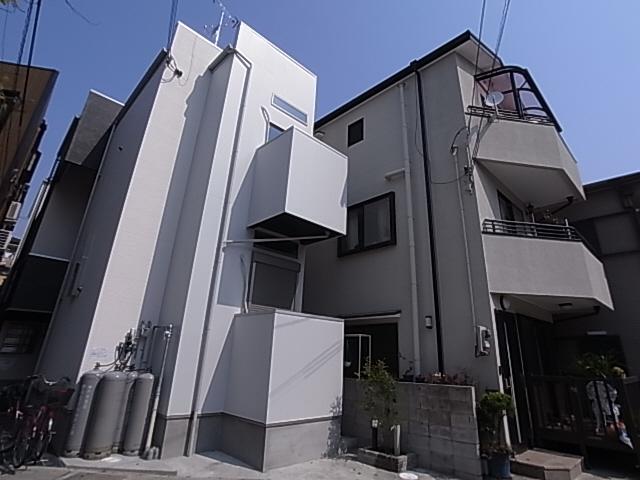 物件番号: 1111284834 エクル海運町  神戸市長田区海運町2丁目 1SK アパート 外観画像