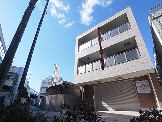 物件番号: 1111290722  神戸市兵庫区西出町 1K マンション 外観画像