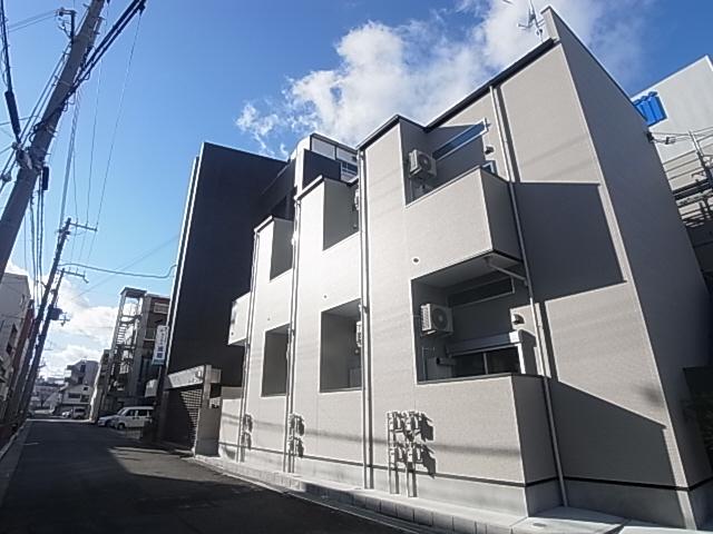 物件番号: 1111290725 メゾンド イスティクラール  神戸市長田区真野町 1SK アパート 外観画像