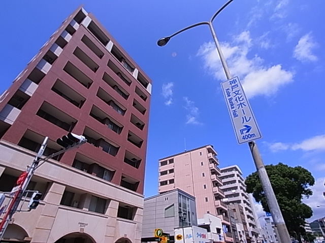 物件番号: 1111284819 コルベーユダフト  神戸市兵庫区西上橘通1丁目 1SDK マンション 外観画像
