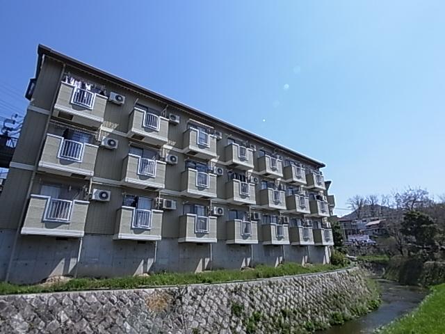 物件番号: 1111249419  神戸市須磨区妙法寺乗越 1K マンション 外観画像