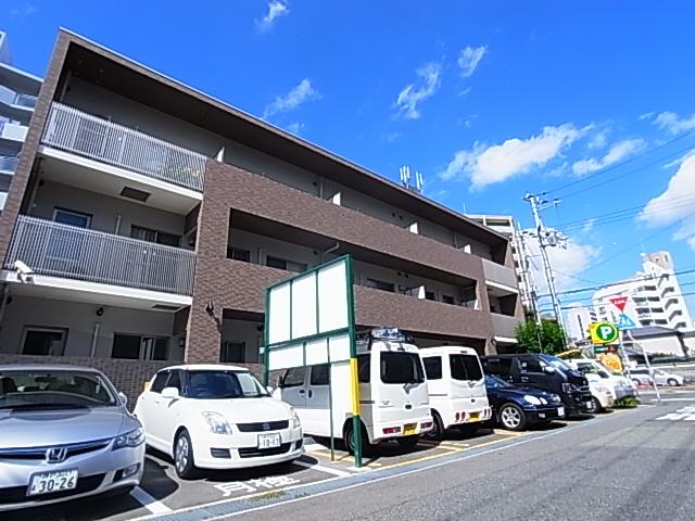当社からすぐの人気駅近築浅マンション^^オール電化・オートロック付^^ 305の外観