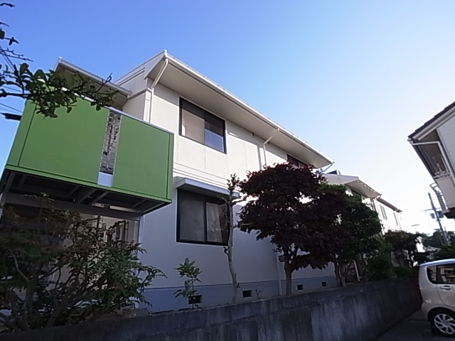 物件番号: 1111284625 グリーンハイツ  神戸市北区南五葉3丁目 3DK アパート 外観画像