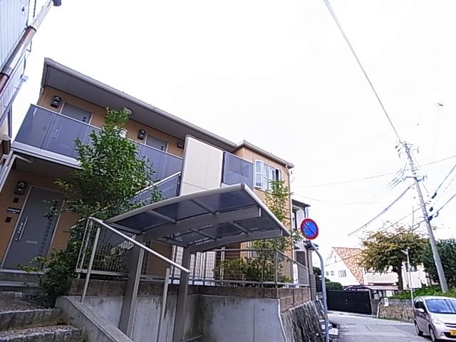 物件番号: 1111284900 グラデヴォーレ旭が丘  神戸市垂水区旭が丘2丁目 1K アパート 外観画像