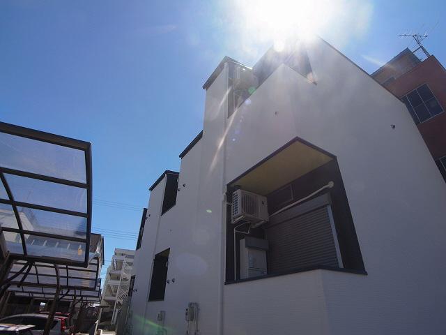 物件番号: 1111290728 パロアルト3  神戸市長田区海運町8丁目 1SK ハイツ 外観画像