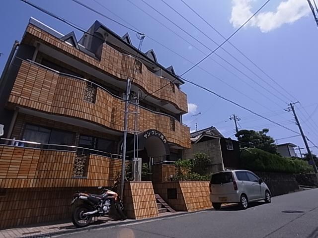 物件番号: 1111288636  神戸市北区鈴蘭台西町1丁目 2DK マンション 外観画像