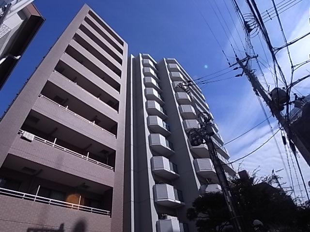 物件番号: 1111290482 ウノ・アンビエンテ湊川  神戸市兵庫区下沢通1丁目 1K マンション 外観画像