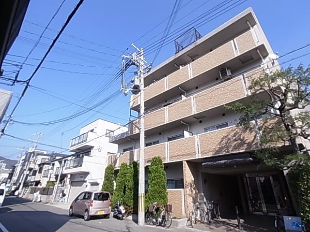 物件番号: 1111286754  神戸市長田区御船通2丁目 1DK マンション 外観画像